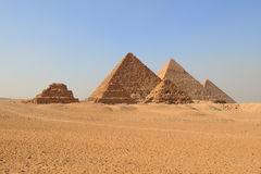 Pyramids Giza Plateau Cairo Royalty Free Stock Photography