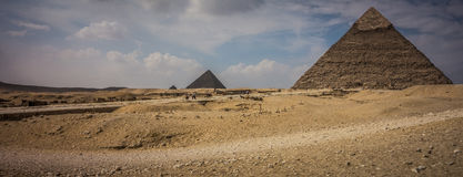 Pyramids of Giza, Egypt royalty free stock photography