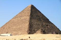 Pyramids of Giza El Cairo Egypt Royalty Free Stock Photography