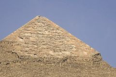 Pyramids of giza. Great pyramids of Egypt. The seventh wonder of the world. Ancient megaliths. stock photography