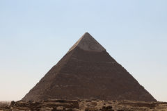 The pyramids of giza group Royalty Free Stock Image