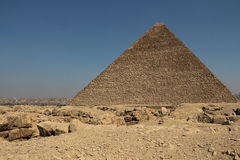 The pyramids of giza group Royalty Free Stock Photos