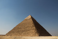 The pyramids of giza group Royalty Free Stock Photo