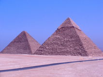 Pyramids of Giza. Image of the Pyramids of Giza Royalty Free Stock Photography
