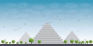 Pyramids in Giza Stock Photography