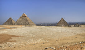 Pyramids of Gizah Royalty Free Stock Image