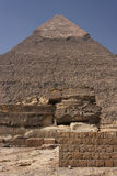 Pyramids of Gizeh Royalty Free Stock Image