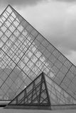 Pyramids of glass Royalty Free Stock Photos