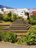Guimar. Pyramids in Guimar on Tenerife, Canary Islands, Spain Stock Image