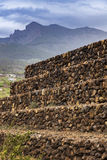 Pyramids of Guimar Stock Photo