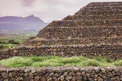 Pyramids of Guimar Royalty Free Stock Photo