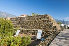 Pyramids of Guimar in Tenerife, Spain, editorial Royalty Free Stock Image