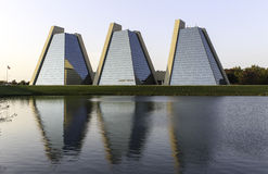 The Pyramids - Modern Office Building Royalty Free Stock Photo