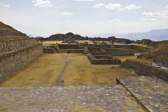 Pyramids of Monte Alban, Mexico. Royalty Free Stock Photography