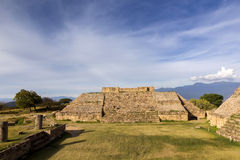 Pyramids at Monte Alban Royalty Free Stock Image