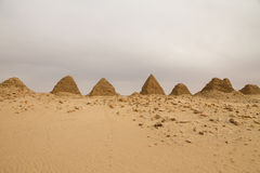 The pyramids at Nuri Royalty Free Stock Images