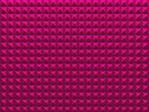 Pyramids. Pink glamour abstract background. Stock Photos