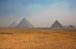 Pyramids plateau Stock Photos