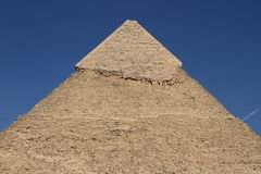 The Pyramids and Sphinx of Egypt Stock Photography