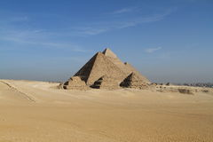 The Pyramids and Sphinx of Egypt Royalty Free Stock Photo
