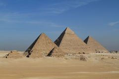 The Pyramids and Sphinx of Egypt Royalty Free Stock Images