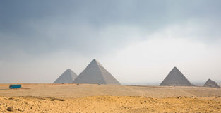 Pyramids tableland Royalty Free Stock Photography