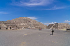 Pyramids of Teotihuacán, Mexico Royalty Free Stock Photo