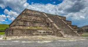 Pyramids of Teotihuacan, Mexico Stock Photography