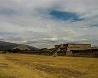 Pyramids of Teotihuacan Stock Image