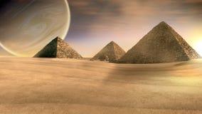 pyramids three Στοκ Φωτογραφίες