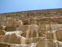 Pyramids Up Close Stock Photo