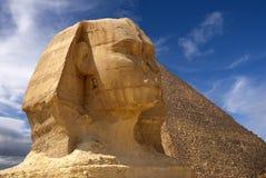 pyramidsphinx Arkivbild