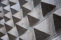 pyramidvägg royaltyfria foton