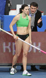 Pyrek Monika - Polish pole vaulter Stock Images