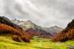 Pyrenäen Atlantiques lizenzfreie stockbilder