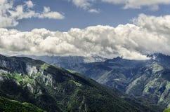 Pyrenäen-Berge Lizenzfreie Stockbilder