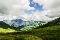 Pyrenäen-Berge Lizenzfreies Stockfoto