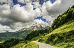Pyrenäen-Berge Stockfoto