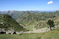 Pyrenean βουνά σε Ariege, Occitanie στο νότο της Γαλλίας Στοκ εικόνα με δικαίωμα ελεύθερης χρήσης