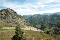 Pyrenean τοπίο σε Ariege, Γαλλία Στοκ φωτογραφίες με δικαίωμα ελεύθερης χρήσης