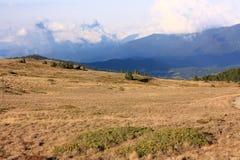 Pyrenean berg i Capcir, Frankrike Arkivfoto