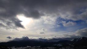 Pyrenean góra w Ariege, Francja zdjęcie wideo