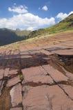 Pyrenean landschap royalty-vrije stock foto