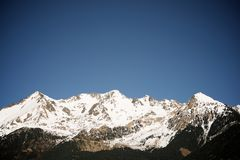 pyrenees Испания стоковая фотография