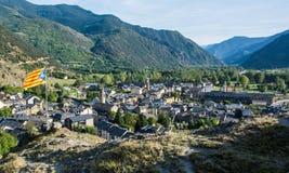 pyrenees Stock Foto