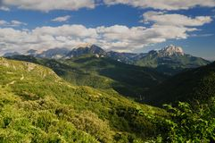pyrenees arkivbilder