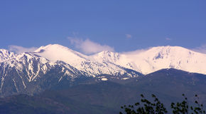 Pyrenees stockfotos