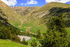 Pyrenees in Andorra Stock Image