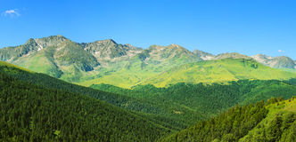Pyrenees in Andorra. Beautiful mountain landscape in Pyrenees, Andorra Stock Images