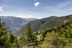 Pyrenees at Andorra Stock Images